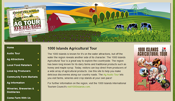 1000 Islands Agricultural Tour