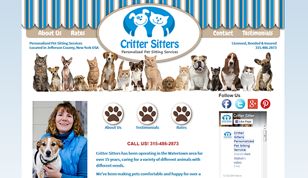 Critter Sitters Online